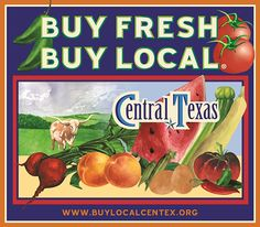 Buy Fresh Buy Local Central Texas is a great tool to help you and your family source the best locally grown produce in the Central Texas area. Want to find out what's in season or what farmers' market best fits your family's busy schedule? Buy Fresh Buy Local has all that information and more! Make sure to check it out at www.buylocalcentex.com. ‪#‎BuyLocalCenTex‬ #localfood #farmersmarket