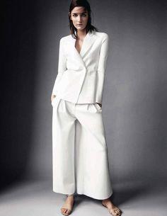 Zuzanna Bijoch for Vogue Spain March 2014 by Victor Demarchelier