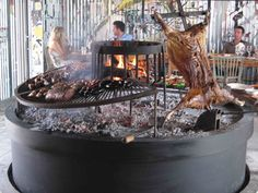 Uruguayan Utopia  Estancia Vik  Barbecue