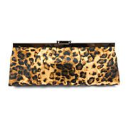 Because leopard print is practically a neutral, you can pair our pleated satin clutch with any style of prom dress  for a powerfully pretty look.