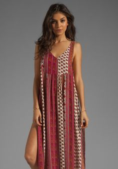 MINKPINK Maya Maxi Dress in Multi