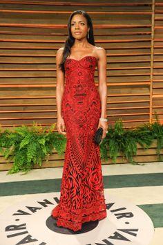 Vanity Fair Oscar Party 2014: Photos from the Red Carpet, Inside the S | Vanity Fair Naomi Harris