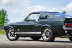 Ford Mustang Shelby GT 500, 1967 - Classicargarage - FR Ford Mustang Shelby Gt, Ford Gt500, Mustangs, Father, Cars, Classic, Black Faux Leather, Pai, Derby
