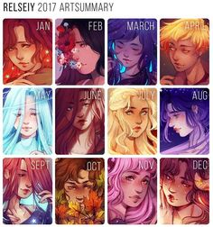 What are your art goals for In general i feel like 2017 was a good art year for me, i finished more illustrations than i have any other ye… Zodiac Signs Sagittarius, Zodiac Star Signs, My Zodiac Sign, Gemini, Aquarius, Anime Zodiac, Zodiac Art, Zodiac Characters, Anime Characters