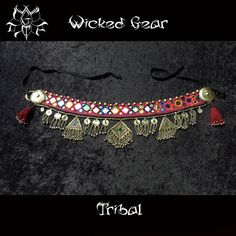 Belly Dance Belt Tribal Fusion Belt belly от WickedGearTribal