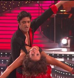 Gilles Marini and Cheryl Burke - Dancing With the Stars