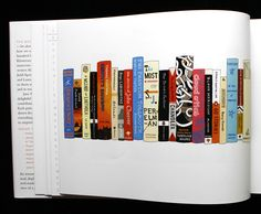 My Ideal Bookshelf: Portraits of Famous Creators Through the Spines of Their Favorite Books | Brain Pickings