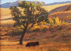 Colorado Gold l 6x8 I Dix Baines I Fine Artist Original Oil Paintings I Autumn Color l Autumn leaves in Colorado I www.dixbaines.com