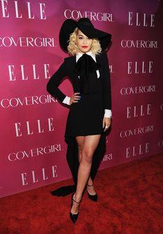 Rita Ora in Saint Laurent at the 4th Annual ELLE Women in Music Celebration