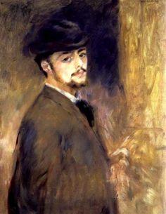Autorretrato, 1876.  Óleo sobre lienzo. 73 x 56 cm.  Fogg Art Museum. Harvard University. Cambridge. Massachusetts. USA.