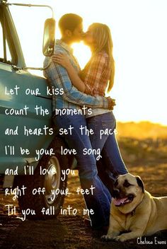 Fall into Me - Brantley Gilbert <3