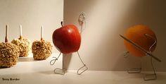 O fotógrafo Terry Border nasceu em 1965 na Base da Força Aérea no sul da Califórnia. Trabalhou muitos anos com fotografia comercial, mas não satisfeito com o andamento de sua carreira, tentou ser cartunista. Entediado com a necessidade de passar seu dia-a-dia sentado desenhando, passou a fazer pequenas esculturas que renderam alguma verba.