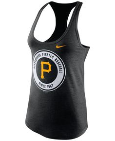 Nike Women's Pittsburgh Pirates Tri-Blend Tank Top