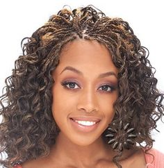 Micro Braids Hairstyles on Pinterest | Micro Braids Styles, Braided H…