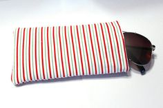 Christmas striped candy cane bag peppermint candy accessory case Christmas gift stocking stuffer bag holiday purse