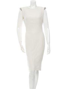 Lanvin Embellished A-Line Dress #CharmSchool #SpringTrend
