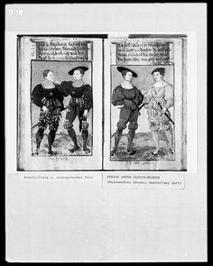 Das Schwarzsche Trachtenbuch, 1530, Augsburg