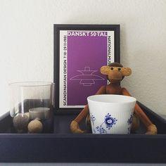 Søndag ❤️ alle kan trænge til en kop morgenkaffe 🐒 #søndag #søndagmorgen…