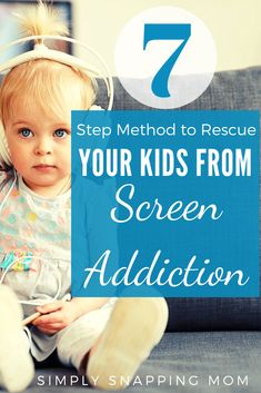 The 7 Step Method to Save Your Kids from Screen Addiction : Learn the negative effects that overusing screentime has on children and a 7 step gentle approach to unplug as a family and reduce technology. Reverse the zombie like effects that screen time ha Parenting Advice, Kids And Parenting, Peaceful Parenting, Gentle Parenting, Mom Advice, Screen Time For Kids, Kindergarten, Parents, Happy Kids