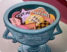 Eat Me ! Alice in Wonderland