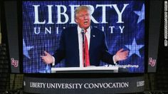 "Donald Trump spoke to Christian students at Liberty University telling them their religion is ""under siege"" and mixing up a quote from the Bible. CNN's Randi Kaye reports."