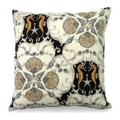 Mullosk Outdoor Pillow - Impressive and striking with its neutral shell pattern, the Mullosk Outdoor Pillow in mink is an ideal pick for a nautical or coastal theme when a bold look is needed in a room that has fair amounts of white. Perfect for a guest bedroom chair or a beautiful sofa, switching out accent pillows is a great way to update the look of a space without redecorating the entire interior.