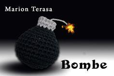 Witzige Deko-Bombe selber häkeln << Häkle Dir einen Hingucker, der Kindern viel Spaß macht. << Hol Dir die Häkelanleitung jetzt und dann ran an die Wolle. ツ