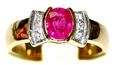 Ruby Solitaire Natural Diamond 18K Yellow Gold Ring [RS01... https://www.amazon.com/dp/B00BRJ3YME/ref=cm_sw_r_pi_dp_.OdCxbC098CQC