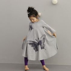 Find More Dresses Information about Autumn children clothing dress for girl Full butterfly print girls long dress baby dress chinese style girl fashion dress3 10t,High Quality clothing overstock,China dress organza Suppliers, Cheap dress applique from youngstyle on Aliexpress.com