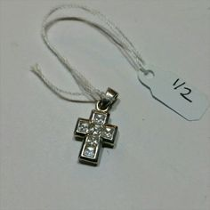 STERLING SILVER CROSS PENDANT STERLING SILVER CROSS PENDANT Jewelry Necklaces