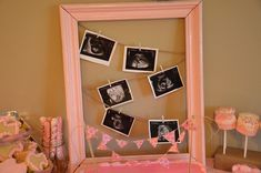 if only I hadn't just bought a bunch of frames for the ultrasounds... this is super cute!