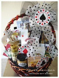 Las Vegas Blackjack Gift Basket. noveldesignsllc.com