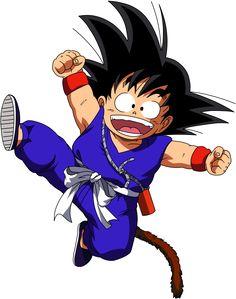 Dragon Ball - kid Goku 5 by on DeviantArt Kid Goku, Wallpaper Do Goku, Manga Dragon, Ssj3, Otaku, Dbz Characters, Telegram Stickers, Nerd, Fan Art