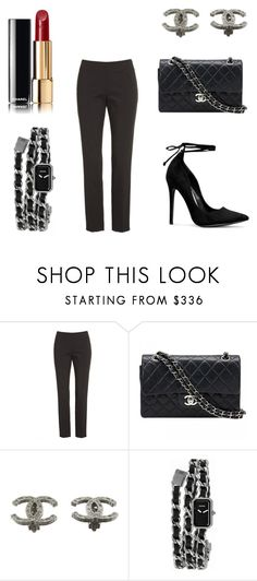 """""""White Shirt 3"""" by chimy333 on Polyvore featuring Lafayette 148 New York and Chanel"""