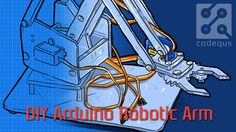 In this tutorial, we design an  Arduino Uno Robotic Arm . Entire arm will be designed from some scrap material and servos.