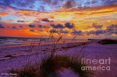 Sunset at Indian Shores, Florida. (HDR)