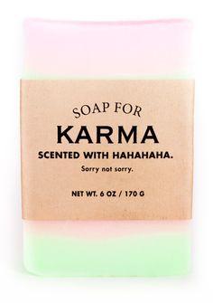 Soap for Karma – Whiskey River Soap Co. Soap Labels, Candle Labels, Soap Packaging, Olive Garden Coupons, Karma, Whiskey River Soap, Reap What You Sow, Whiskey Cocktails, Soaps