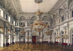The White Hall in the Winter Palace