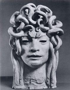 Duilio Cambellotti, Testa di Gorgone 1922
