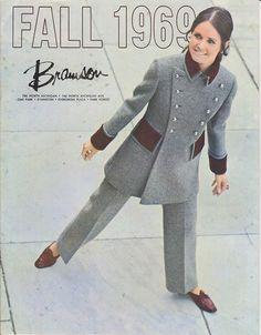 Bramson Fall 1969 | Mike Warmington | Flickr 1969 Fashion, Sixties Fashion, Teen Fashion, Retro Fashion, Fashion Show, Vintage Fashion, Vintage Glam, Vintage Love, Vintage Makeup