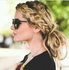 I want to try thus braided updo