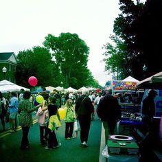 2012 Cotton District Arts Festival during Super Bulldog Weekend