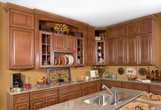 17 Inspiring Spray Painting Kitchen Cabinets Image Ideas