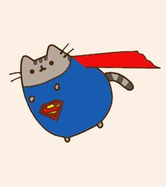 Amateur reimaginings of the Pusheen cat doing fancy dress. Warning: contains atrocious punning of the feline kind. Gato Pusheen, Pusheen Love, Kawaii Drawings, Cute Drawings, Pushing Cat, Nyan Cat, Super Cat, Kawaii Cat, Cat Memes