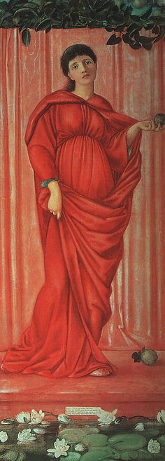 """Edward Burne-Jones - """"Autumn"""""""