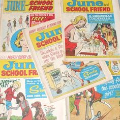 June and School Friend (the two comics combined in 1965) essential reading after Bunty