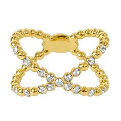 Adore Gold Plated Beaded Crossing Ring, Gold Buy for: GBP39.00 House of Fraser Currently Offers: Adore Gold Plated Beaded Crossing Ring, Gold from Store Category: Accessories > Jewellery > Rings for just: GBP39.00 Check more at http://nationaldeal.co.uk/adore-gold-plated-beaded-crossing-ring-gold-buy-for-gbp39-00/