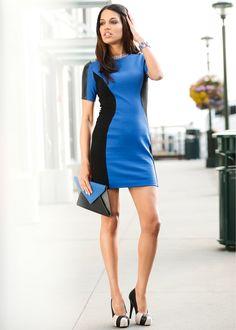 Vestido tubinho de malha Ideias Fashion, Dresses, Block Dress, Mesh, Productivity, Vestidos, Dress, Gown, Outfits