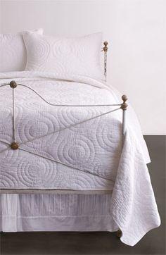 Elegant Modern White Quilt