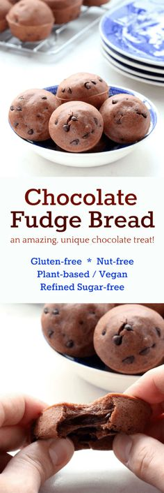 Chocolate Fudge Bread, when you least expect it dreams do come true.  Soft and fluffy bread with a chewy chocolaty inside!